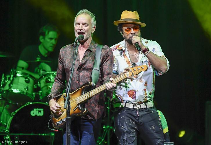 Sting és Shaggy