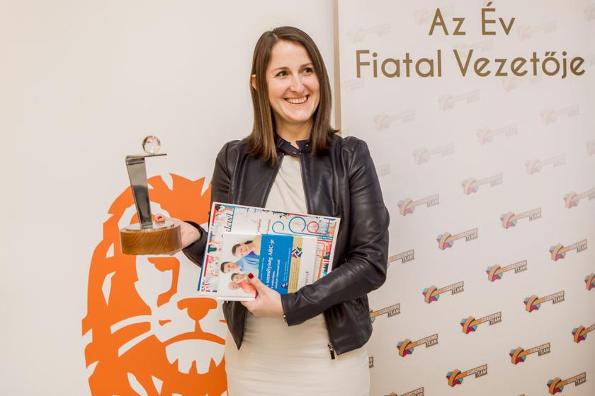 Paál Laura, a tavalyi év nyertese.