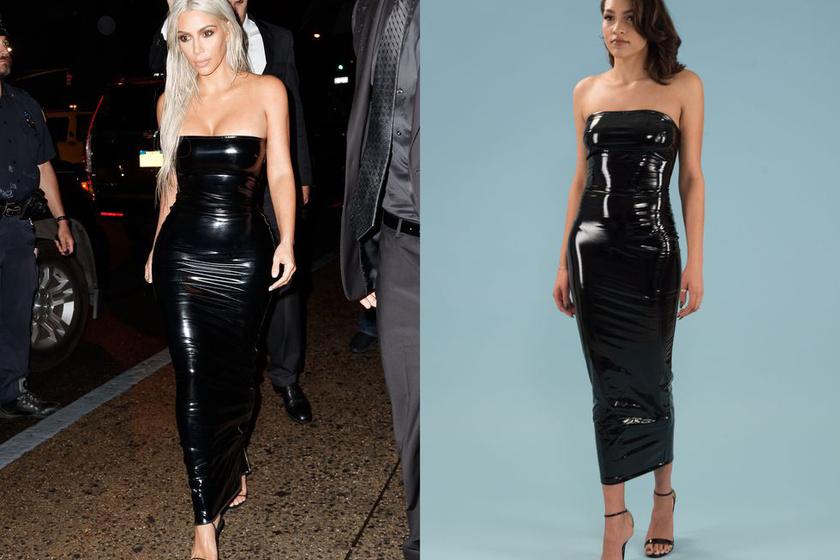 - Jesszusom, mint egy pingvin! Kim Kardashian is így sétált ebben? Táncolni, mondjuk, biztosan nem lehet benne.