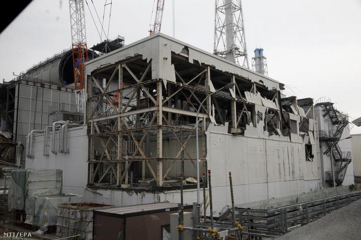 A Tokyo Electric Power Co. (TEPCO) japán áramszolgáltató fukusimai atomerőművének megsérült 3-as reaktorblokkja 2017. november 20-án