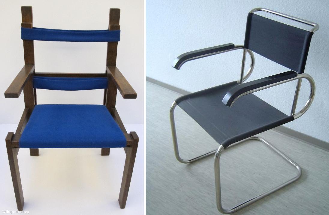 Breuer Marcell fa- és csővázas székei