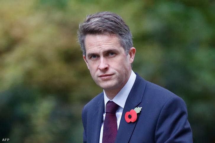 Gavin Williamson védelmi miniszter