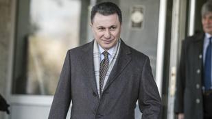 Menedékjogot kért Magyarországon a börtönre ítélt volt macedón miniszterelnök