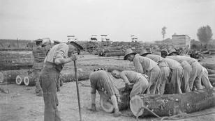 Az első világháborúban 140 ezer kínai vendégmunkás ásta a lövészárkokat