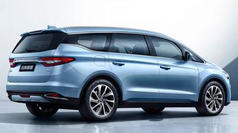 Jiaji: elegáns egyterű Volvo alapon