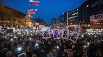 Kellett nekik tüntetni a szlovák kormány ellen