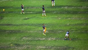 Elkeserítő állapotú gyep miatt nem megy az NFL Mexikóba