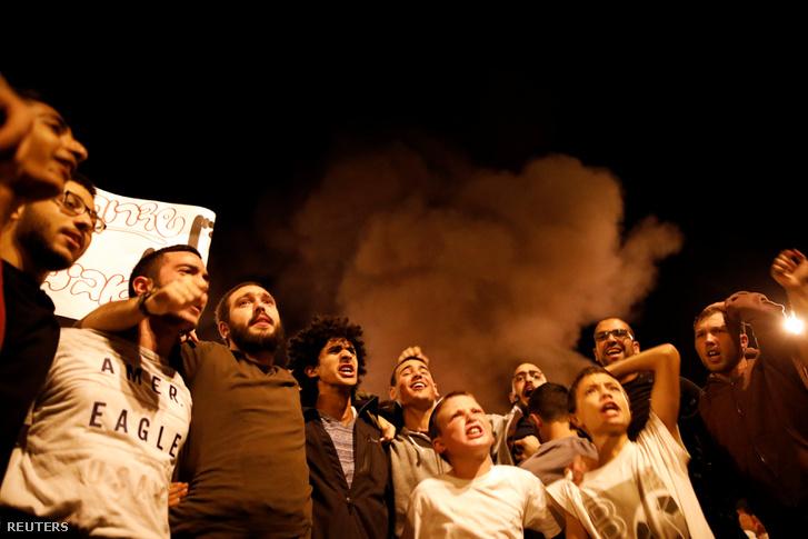 Dél-izraeliek tiltakoznaka kormány döntése ellen