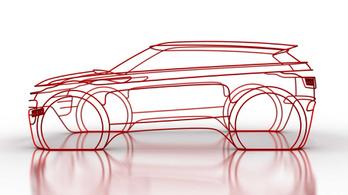 Hamarosan érkezik a második Range Rover Evoque
