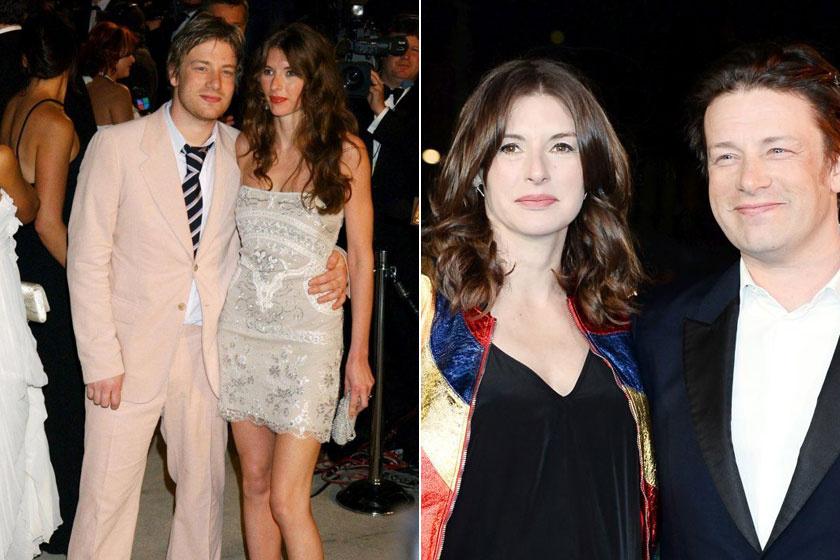Jamie Oliver és felesége, Jools.