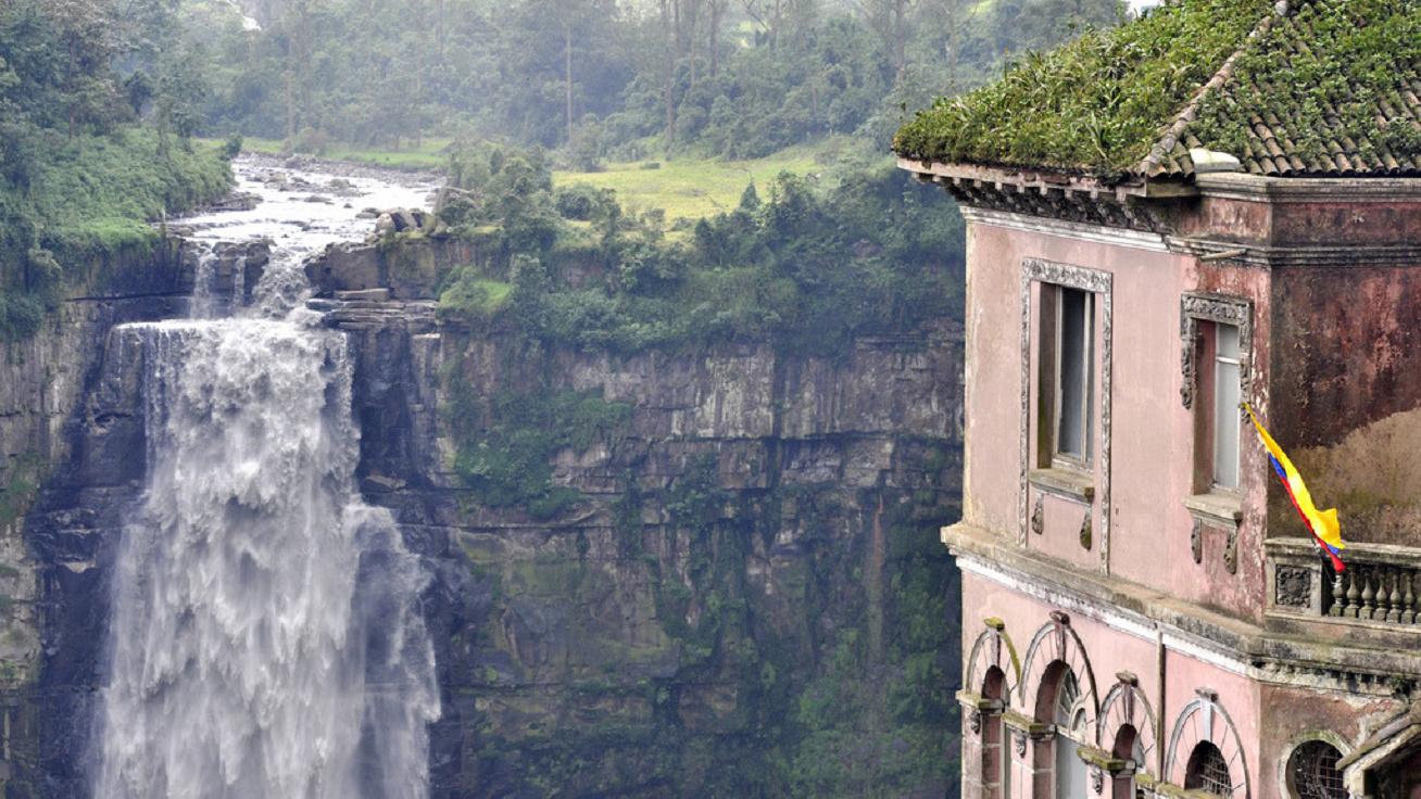 hotel-del-salto kolumbia