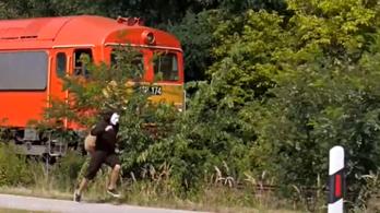 Valamikor lesz pénz a vasútvonalra, ahol a csiga is lefutja a vonatot