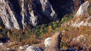 Átkelés Közép-Európa egyik legmonumentálisabb szurdokvölgyén