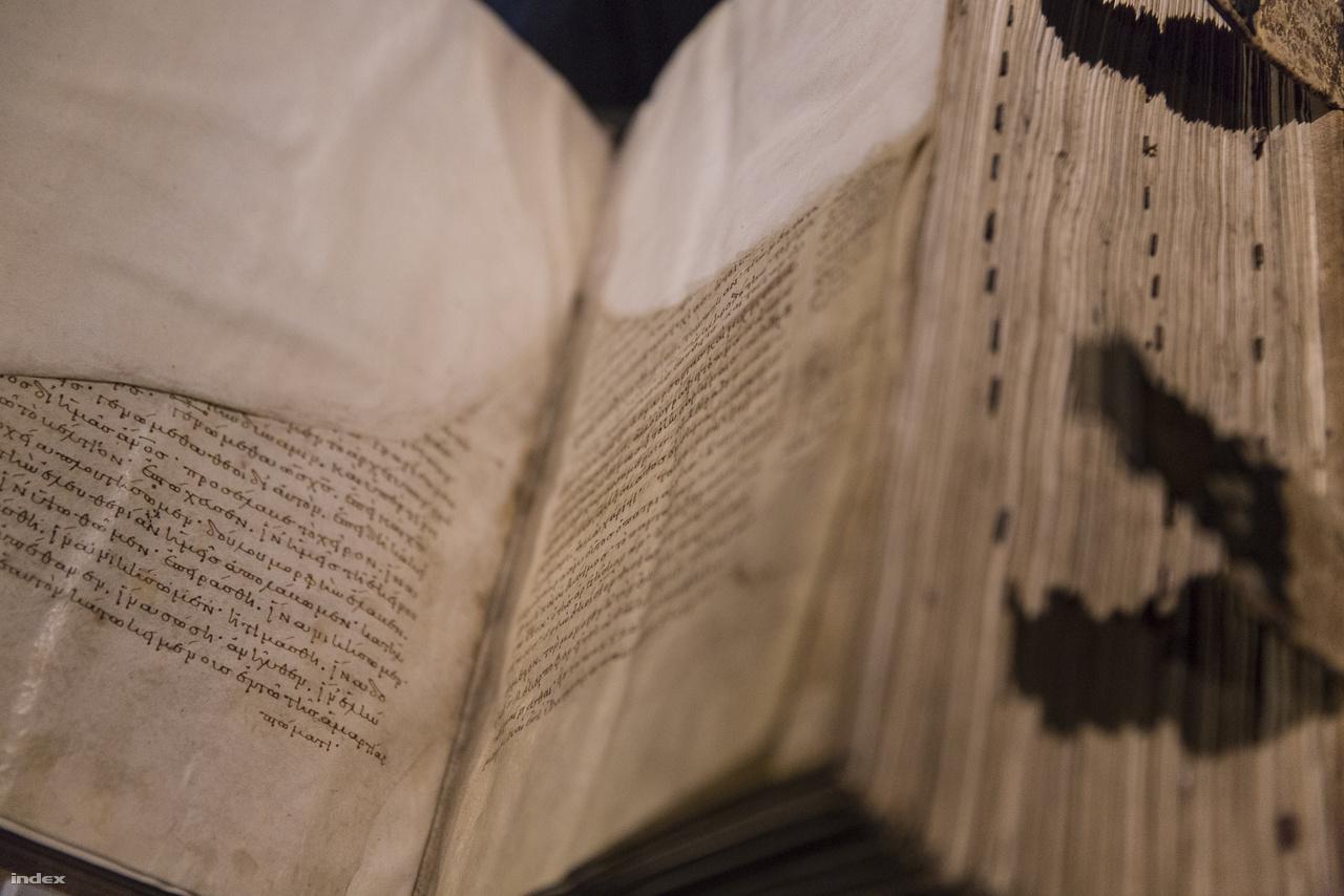 Nazianzi Szent Gergely homíliái egy 10 századi kódex, amit Magyarországon, Budán restauráltak valamikor az 1500-as években – ekkor pótolták a kitépett laprészeket. Bár arról nem maradt fenn dokumentum, hogy a kötet megfordult a budai corvinaműhelyek valamelyikében, de a lapok tetejére firkantott lapszámozás kézírása megegyezik más, bizonyítottan budai corvinán talált kézírással.