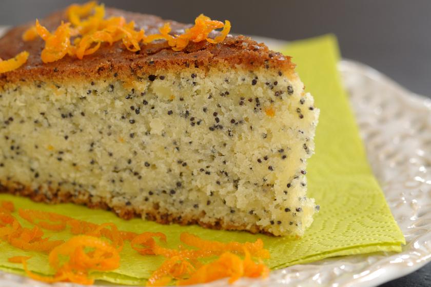 Gluténmentes, narancsos-mákos süti könnyedén és gyorsan