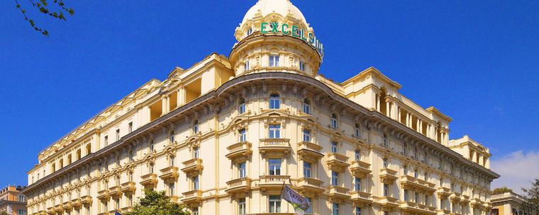 A The Westin Excelsior Róma egyik ikonikus épülete, ami a legendás Via Venetón található, nem messze a Spanyol lépcsőtől