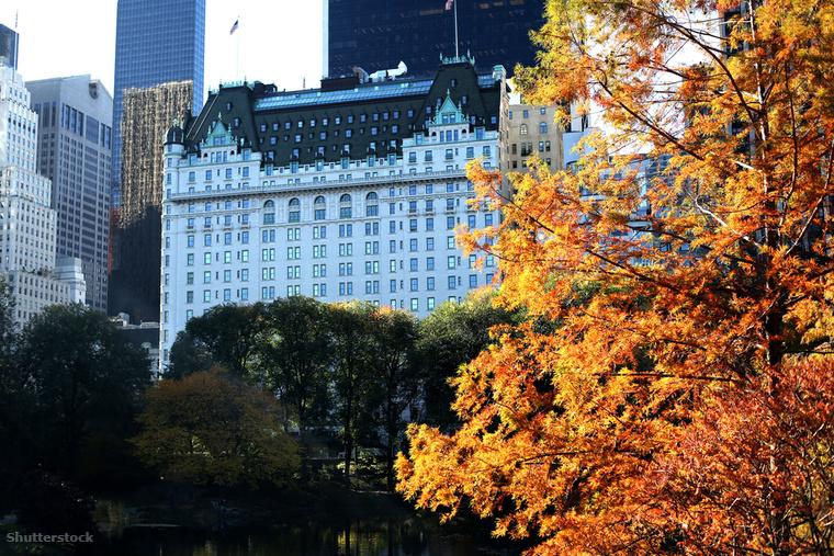 Az 1907-ben épült The Plaza New York legszebb szállodája
