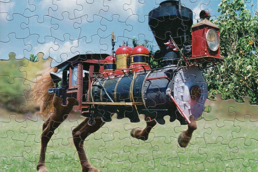 Különös dolgot vett észre két régi puzzle darabjain: zseniális eredménye lett