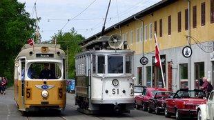 Barkas, Trabant, és cseh villamos Dániában