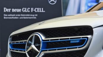 Most kezdik használni a hidrogénhajtású Mercedeseket