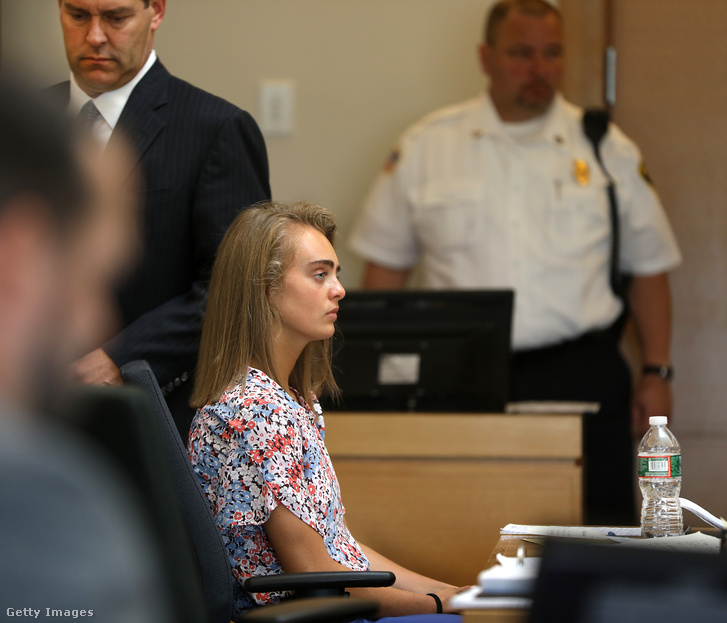 Michelle Carter a bíróságon 2017. június 13-án