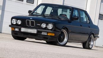 Teszt: BMW M5 (E28) – 1986.