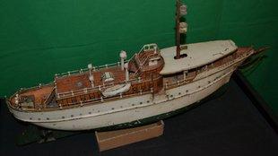 Märklin játékhajó 1920 környékéről