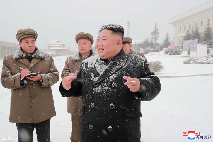 Kim Dzsongun 2018 október 30-án