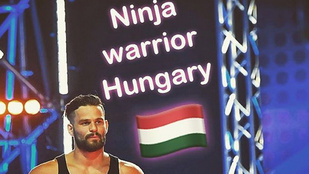 A brit Ninja Warrior győztese ígéretes tornász volt a Fradiban