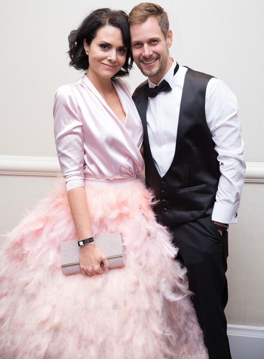 Deutsch Anita és Kinizsi Ottó a 2018-as Story Gálán úgy turbékoltak, mint a friss szerelmesek.