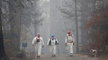 Kaliforniai tűzvész: több mint 600 eltűnt, 65 halálos áldozat