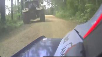 A traktort megúszták, de kicsúsztak