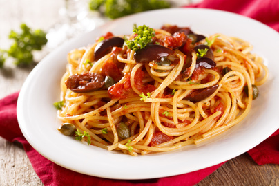 Paradicsomos, olívás tészta, avagy a híres Puttanesca pasta mamma-féle receptje