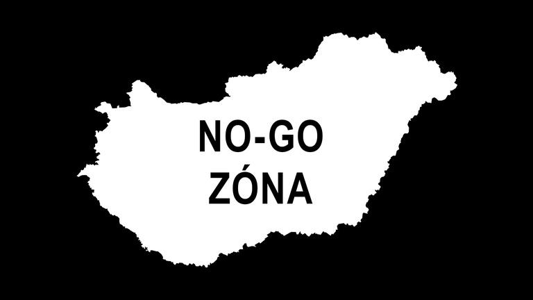 A mi országunk van tele no-go zónákkal