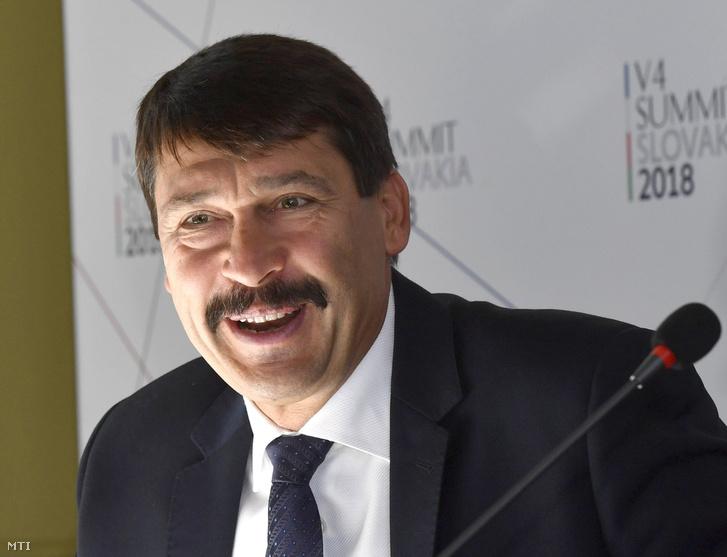Áder János köztársasági elnök