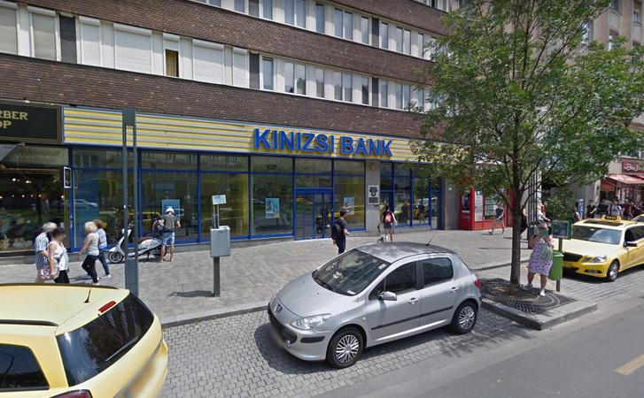 Kinizsi Bank, Károly körúti fiókja Budapesten