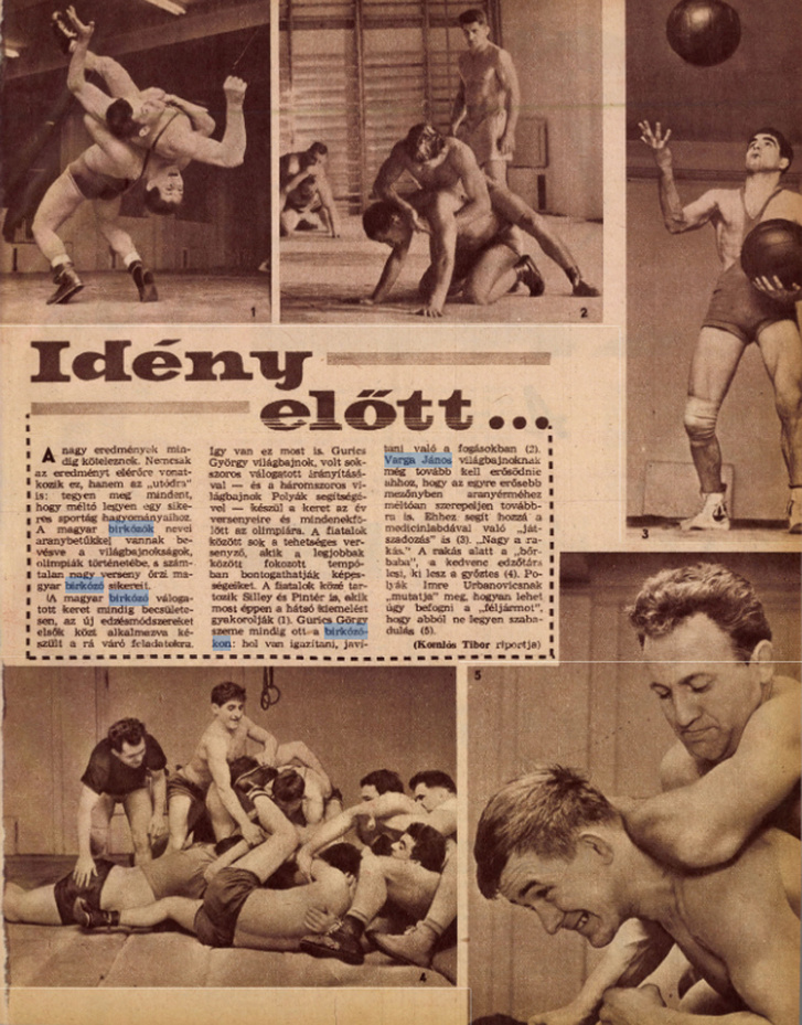 A Képes Sport 1964. január 14-i száma