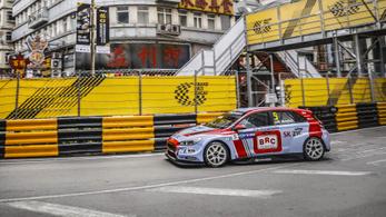 Erőn felüli Michelisz-5. hely a megszakított makaói versenyen