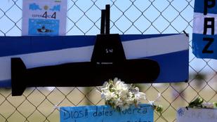 Megtalálták az egy éve elsüllyedt argentin tengeralattjárót
