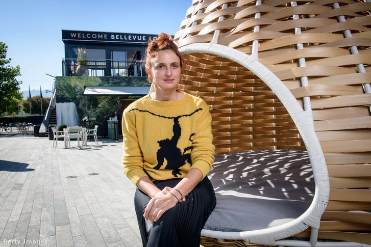 Alice Rohrwacher a Zürichi Filmfesztiválon 2018. szeptember 27-én.