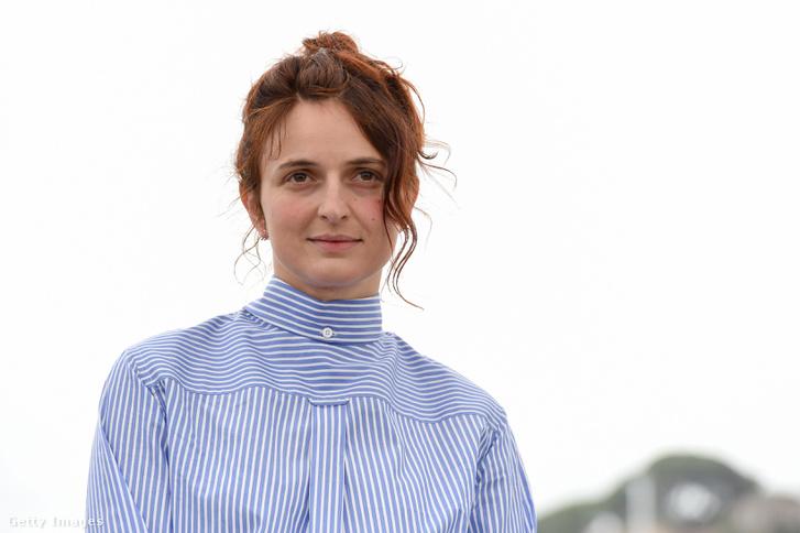Alice Rohrwacher a cannes-i filmfesztiválon 2018. május 14-én.
