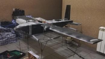 Cigarettát csempésző drónt fogtak az ukránok a magyar határnál