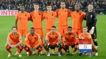 Ismét lehet rettegni a hollandoktól