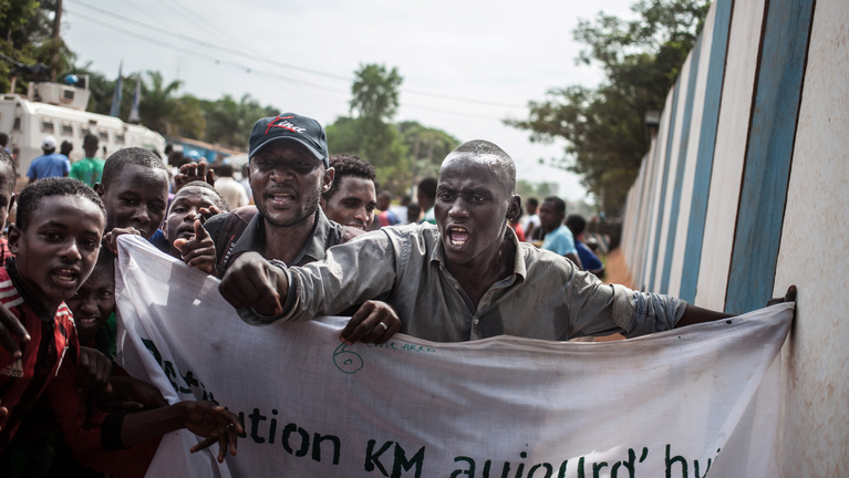 Negyvenkét halott egy menekülttábor elleni támadásban Közép-Afrikában