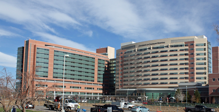 A Colorado Egyetemi Kórház, ahol a műhiba történt