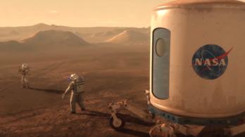 A NASA ezzel a bitang videóval készül a Marsra
