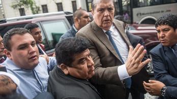 A volt perui elnök 100 ezer dollár kenőpénzt vett át az építőipari cégtől