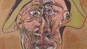 Földbe ásva találtak meg egy ellopott Picasso-képet Romániában