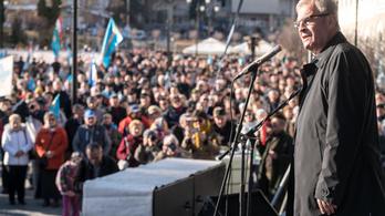 Az autonómiát követelték a székelyföldi tüntetők