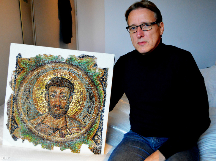 Arthur Brand és a megtalált mozaik